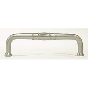 Top Knobs 3 3/4 Inch CC Appliance Handle - Brushed Satin Nickel