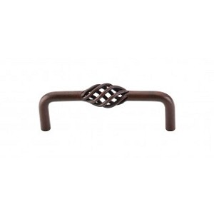 Top Knobs M651 Twisted Wire D Pull 3 3/4 Inch (C-C) - Patina Rouge