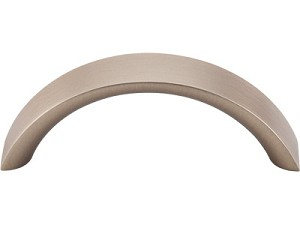 Top Knobs Nouveau 3 Inch CC Crescent Pull - Brushed Bronze