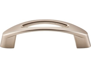 Top Knobs Nouveau 3 Inch CC Verona Pull - Brushed Bronze