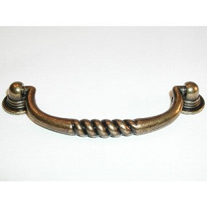 "Top Knobs Britannia Eton 3 3/4"" CC Pull - German Bronze"