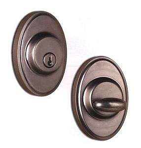 Weslock 700 Series Single Cylinder Oval Deadbolt